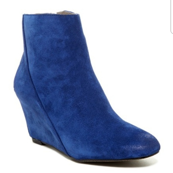 Vince Camuto Shoes - Vince Camuto Wedge Suede Bootie